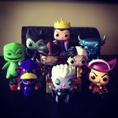 Disney Villains Pop Funky OMG!!!! I want alllllllllllll of these