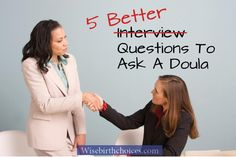 5 Better Questions to Ask a Doula