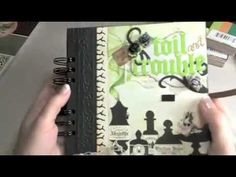 Halloween Mini-Album DCWV Ghosts and Goblins - YouTube