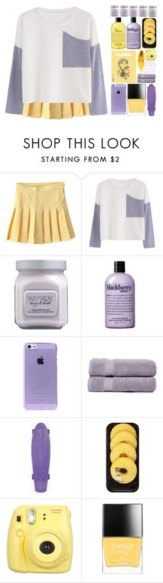 """~anxiety?"" by itsfashioninfinity ❤ liked on Polyvore featuring Laura Mercier, philosophy, Pure Fiber, Lindt, Fujifilm, Butter London and Dolce&Gabbana"
