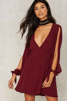 Slice of Life Wrap Dress