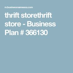 Starting a tutoring service sample business plan template thrift storethrift store business plan 366130 flashek Gallery