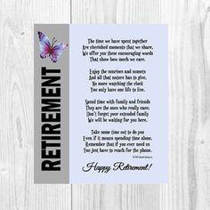 A Retirement Blessing | Retirement poems, Happy retirement ...