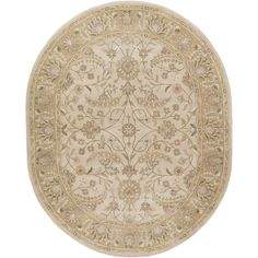 Bring luxury to your home with this traditional area rug. Hand-tufted with wool, this border designed rug will add a pop of color and the finishing touch to your décor.