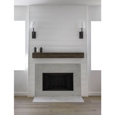 30 Interesting Farmhouse Fireplace Design Ideas For Living Room. If you are looking for Farmhouse Fireplace Design Ideas For Living Room, You come to the right place. Fireplace Redo, Shiplap Fireplace, Rustic Fireplaces, Fireplace Remodel, Fireplace Design, Fireplace Ideas, Fireplace Hearth, Simple Fireplace, Minimalist Fireplace