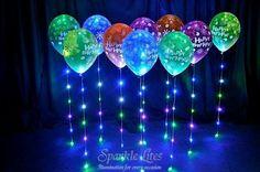 más y más manualidades: Ilumina tus globos con este sencillo truco