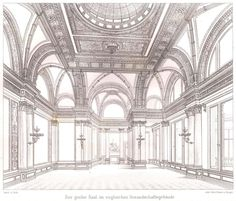 The ballroom of the Palais Strousberg, Berlin