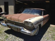1957 Plymouth Fury orig miles Mopar Dodge 1958 Christine for sale: photos, technical specifications, description Rust Never Sleeps, Plymouth Cars, Rust In Peace, Classy Cars, Abandoned Cars, Barn Finds, Mopar, Cars For Sale, Rusty Cars