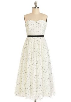The Gala for Me Dress, #ModCloth      just picked up this beauty, wedding bells, i hear them calling!