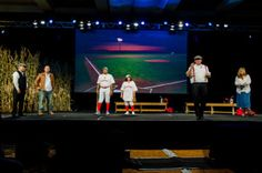 """Phil Hugh talked about Red Roof Inn's Franchisees, Owners, GM""""s and the best practices through his skit, """"Field of Dreams""""! If you manage it, they will come! If you expand it, they will come!"""