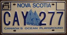 Canada's licence plates Licence Plates, Car License Plates, Car Backgrounds, I Am Canadian, Atlantic Canada, Canada Eh, True North, Find Picture, Nova Scotia