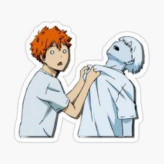 Haikyuu Stickers | Redbubble Stickers Cool, Tumblr Stickers, Anime Stickers, Kawaii Stickers, Printable Stickers, Kageyama, Hinata, Chibi, Decoration Stickers