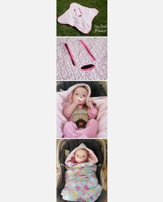 Baby car seat blanket, better idea instead of a bulky coat.