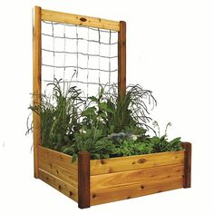 """Cedar Raised Garden Bed 48"""" W x 48"""" L - (3 Tier) On Sale now. Take 10% Off + FREE SHIPPING. Use Coupon Code:PIN10"""