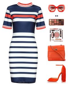 Sin título #4776 by mdmsb on Polyvore featuring polyvore fashion style Christian Louboutin Chanel Effy Jewelry Alice + Olivia Too Faced Cosmetics clothing