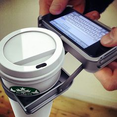 Oh No They Did'nt! Walking and texting, coffee holder.