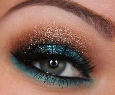 NARS teal (No, i don't think i could ever pull this off..)