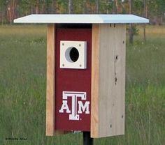 Texas A & M NCAA Bluebird/Songbird House