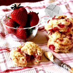 Galletas de mascarpone y fresas