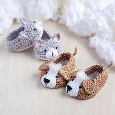 Crochet Baby Booties Crochet Knitting: M - maallure Booties Crochet, Crochet Baby Boots, Knit Baby Booties, Crochet Baby Clothes, Newborn Crochet, Crochet Slippers, Cute Crochet, Crochet For Kids, Crochet Dolls