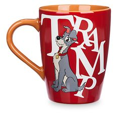 Disney Coffee Cup - Lady and the Tramp - Logo Your WDW Store - Disney Coffee Cup Mug - Lady and the Tramp - Logo Disney Coffee Mugs, Disney Cups, Disney World Theme Parks, Disney Souvenirs, Logo Mugs, Cute Cartoon Drawings, Christmas Figurines, Lady And The Tramp, Disney Home