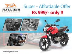 One of our most affordable and best selling packages has just got better!! Book your service here: https://goo.gl/BqMYBs #Flyertech  #Bikeservice