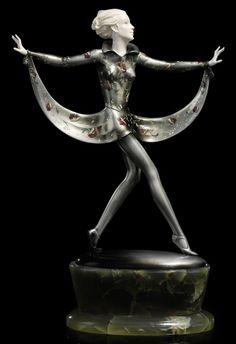 JOSEF LORENZL (1892-1950) |  DANCING GIRL, CIRCA 1920
