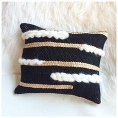 Cushion handwoven by DeerJane