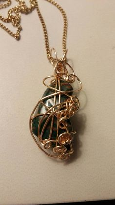 Check out this item in my Etsy shop https://www.etsy.com/listing/230971486/wire-wrapped-bloodstone-gold-plated