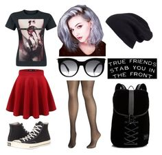 """""""Bring Me The Horizon"""" by stitches14 ❤ liked on Polyvore featuring CO, Converse, Alexander McQueen, Avenue, Halogen and Puma"""