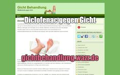 Diclofenac gegen Gicht - Behandlung von Gicht Gout