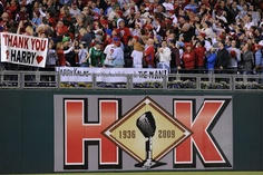 Tribute to Hall of Fame broadcaster Harry Kalas
