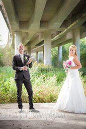 Ett nytt brudpar på Nygifta.nu. Från Stockholm  er om bröllop och fler brudpar hittar du på www.nyifta.se