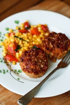 Cheddar BBQ Meatloaf Muffins | Recipe | Bbq meatloaf, Meatloaf muffins and Muffin recipes
