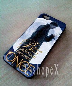 Once Upon a Time Captain Hook Believe For iphone 4/4s case, iphone 5/5s,iphone 5c, samsung s3 i9300 case, samsung s4 i9500 case in Essophex on Etsy, $13.00
