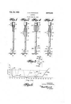 Patent US2875443 - Antenna - Feb 24, 1959
