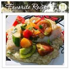 Take halibut, fresh veggies, and a generous helping of our Neapolitan Herb Balsamic Vinegar Condimento, and what do you get? Our latest favorite recipe! Pan Seared Fresh Halibut with Warm Marinated Heirloom Tomato & Baby Squash Salad is not only tasty, just look at those healthy ingredients. The flavoring of rosemary, thyme, garlic, sage, and marjoram (thanks for our Neapolitan Herb Balsamic Vinegar) really pulls this recipe together. Don't forget the Hojiblanca Extra Virgin Olive Oil, too!
