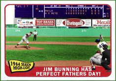 Jim Bunning's perfect game at Shea