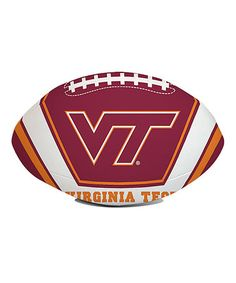 Look what I found on #zulily! Virginia Tech Hokies Softee Football #zulilyfinds