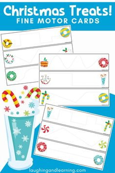 Sweeten up any Christmas themed learning environment with this Christmas Treats Mini Activity Bundle! Have fun with these 10 hands-on activities! #printableactivities #preschoolactivities #literacyactivities #preschoolliteracycentre #printableliteracyactivitiy #printableliteracyactivities #education #printableactivitiesforkids  #christmasthemedactivities Christmas Activities For Kids, Printable Activities For Kids, Hands On Activities, Educational Activities, Preschool Literacy, Kindergarten Activities, Learning Environments, Christmas Treats, Creative Ideas