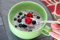My Cha-Cha-Cha Chia Vanilla, Raspberry and Blueberry Pudding Recipe