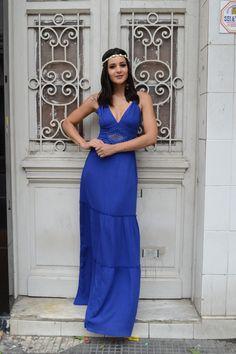 Vestido azul tiffany comprar bom retiro