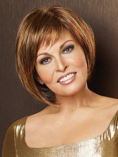 Bewitched Monofilament Synthetic Wig by Raquel Welch - Monofilament Wigs - Best Wig Outlet Natural Hair Wigs, Natural Hair Styles, Wig Styles, Short Hair Styles, Gabor Wigs, Raquel Welch Wigs, Monofilament Wigs, Brown Blonde Hair, Wigs Online