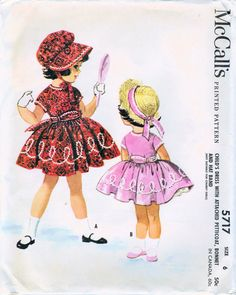 1960s McCall's 5717 UNCUT Vintage Sewing Pattern by midvalecottage