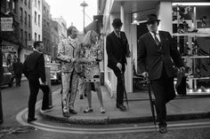 © Philip Townsend – Pearly King and Queen, London, 1966