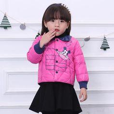 43.26$  Watch now - http://alif1d.worldwells.pw/go.php?t=32639552577 - new winter coat 2016 girls winter  kids winter jacket children kids outerwear baby  children's winter clothing M1602 43.26$