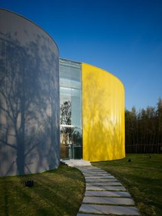 JNC Sales Office & Community Arts Center / Line and Space, LLC
