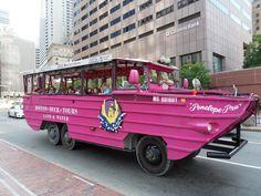 """ Boston Duck Tour on Penelope pru Duck Boat Tours, Duck Tour, East Coast, Massachusetts, Travel Usa, Military Vehicles, New England, Boston, Quack Quack"