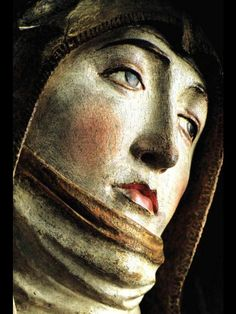 Beauty. Emotion. Carved in wood and polychromed by Tilmann Riemenschneider. Würzburg.