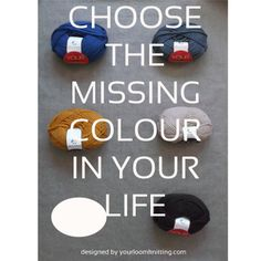 Choose the missing colour in your life... Merino Wool 100%